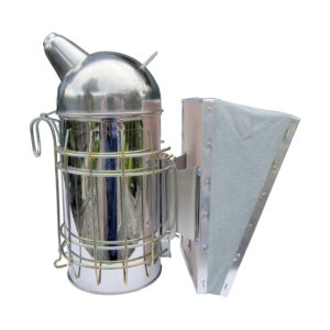 European-style beehive smoker with inner tank